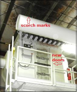 Figure 3. Repaired pellet cooler bag house