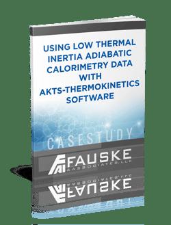 low thermal inertia adiabatic calorimetry data