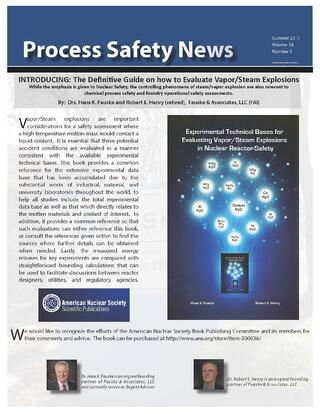 Summer 2017 Process Safety News