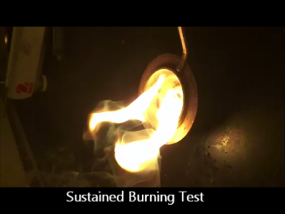 FAI Sustained Burning