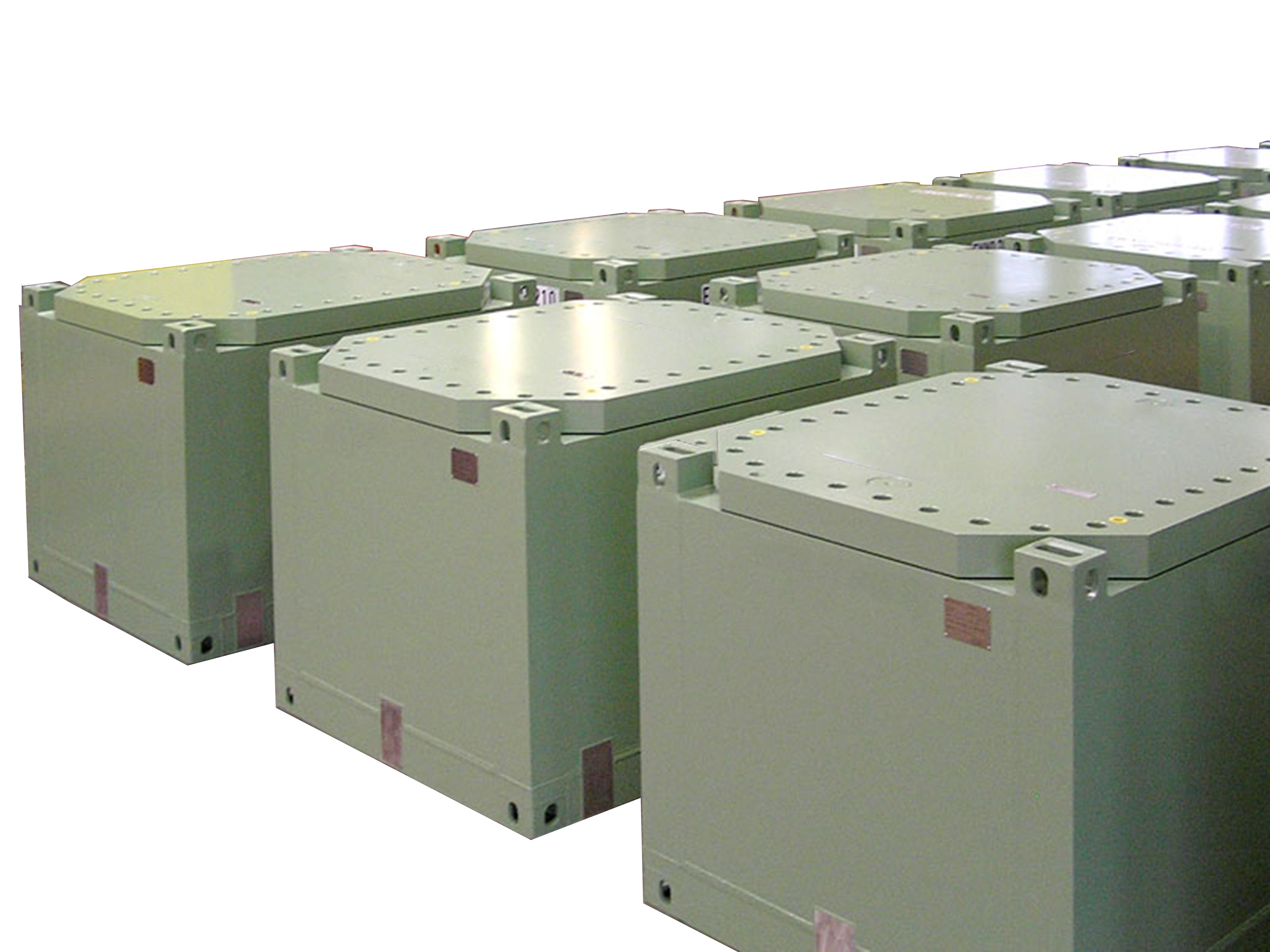 Shielded Containers and Nuclear Waste Processing
