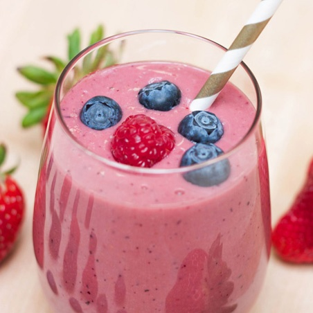 Chocolate Berry Blast Smoothie