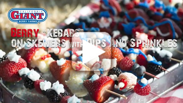 Berry Kebabs video