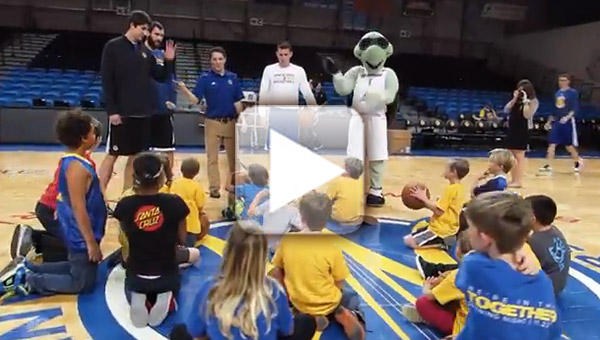 Warriors/Kids Club video