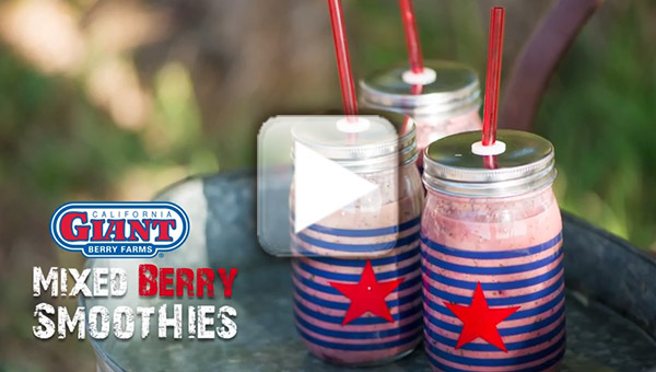 Mixed Berry Smoothie video