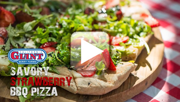 Savory Strawberry Pizza video