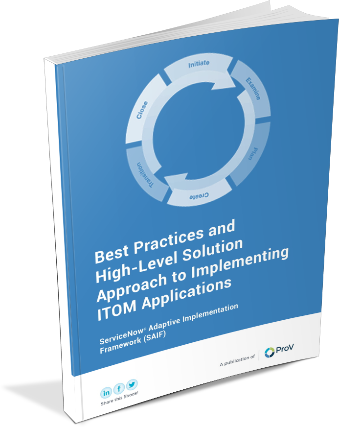Best Practices for Implementing ITOM Guide