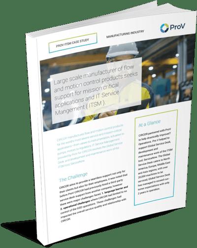 IT Service Management ( ITSM ) Case Study