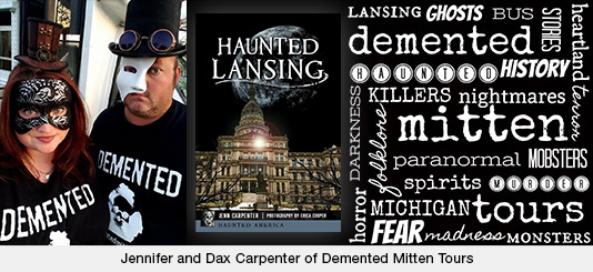 Jennifer and Dax Carpenter of Demented Mitten Tours