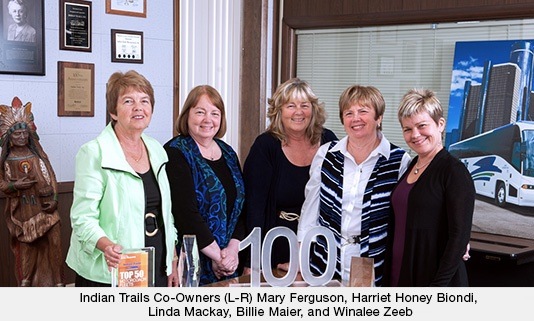 Co-Owners Mary Ferguson, Hariet Hiney Biondi, Linda Mackay, Billie Maier, and Winalee Zeeb