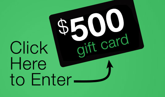 $500 gift car - click here to enter