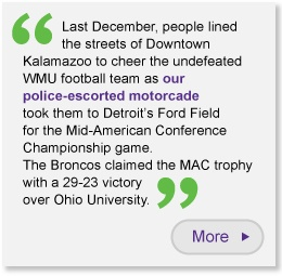 WMU Football Quote