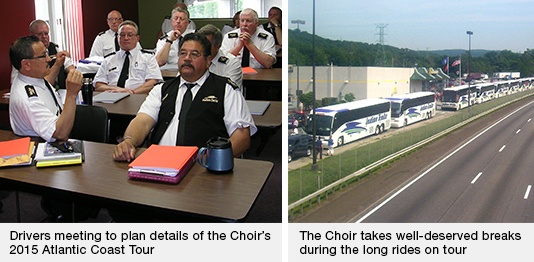 Mormon Tabernacle Choir and Indian Trails