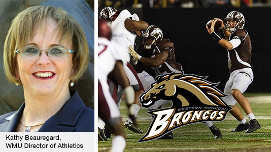 Kathy Beauregard, Director of WMU Athletics