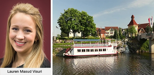 Lauren Masud Visuri and Frankenmuth Boat Tour