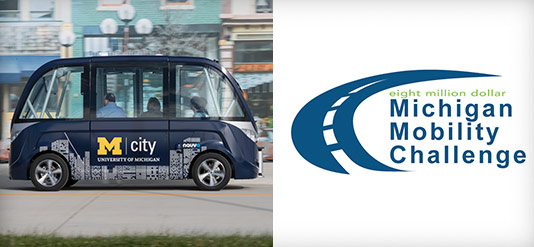 MCity Shuttle and Michigan Mobility Challenge