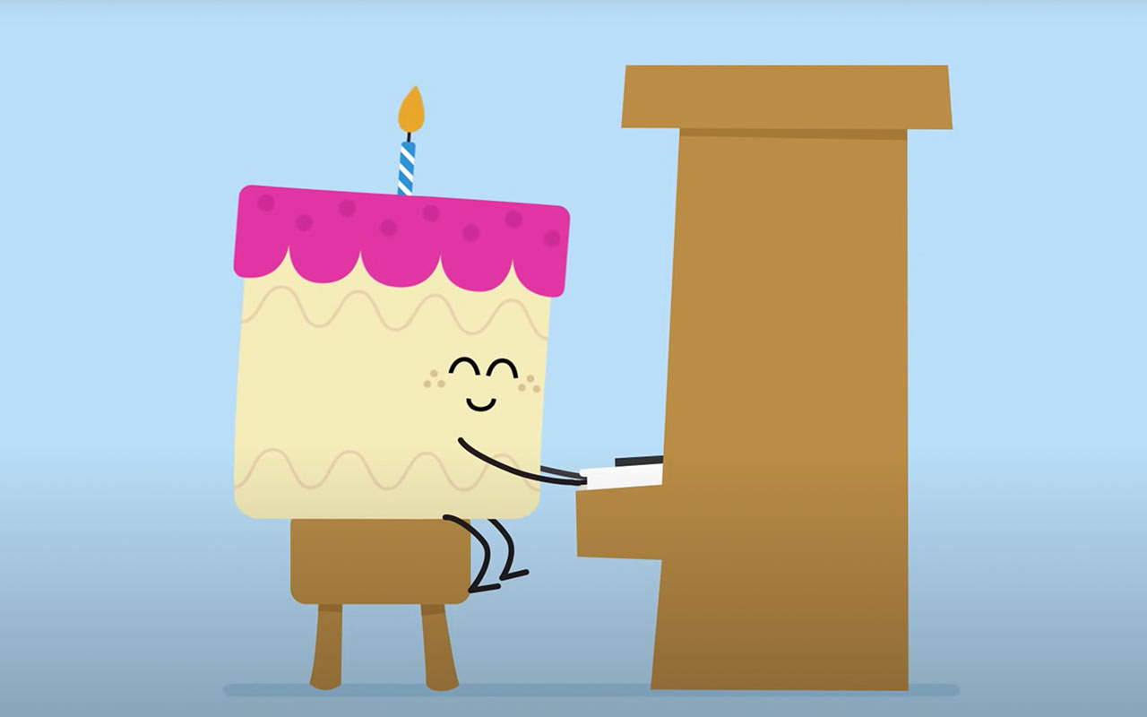 Birthday messages can make patients feel special