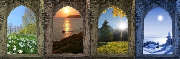 Develop a calendar that takes seasons into account