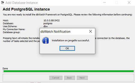 success-adding-postgresql-instance