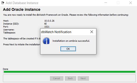 successful-adding-oracle-instance-dbwatch