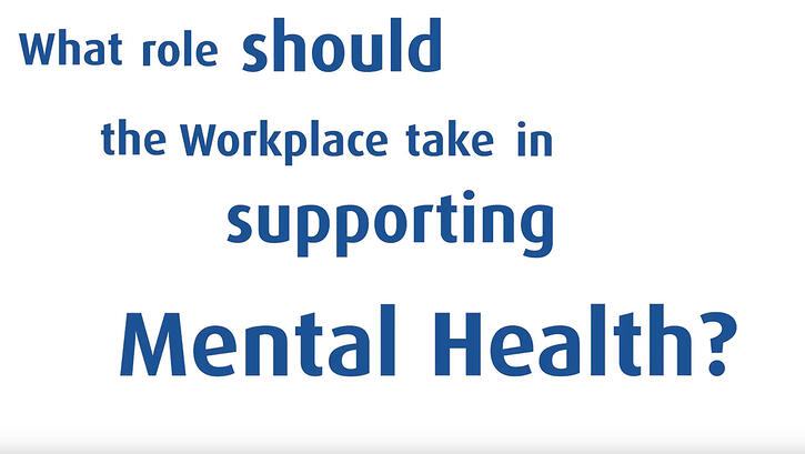 The role of employers in supporting mental health