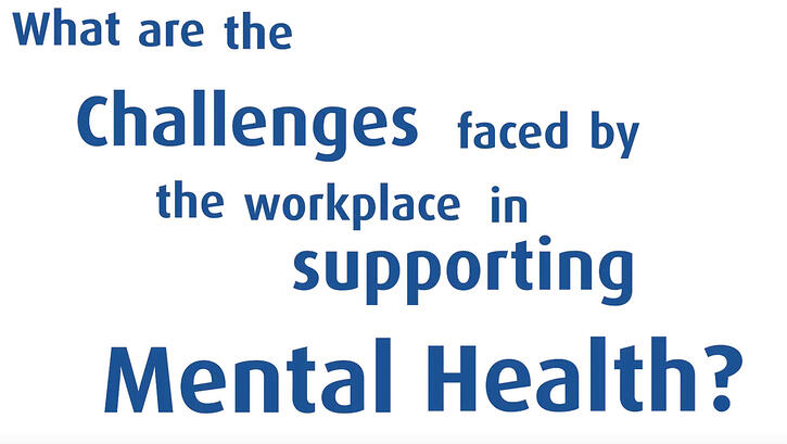 Challenges employers face supporting mental health