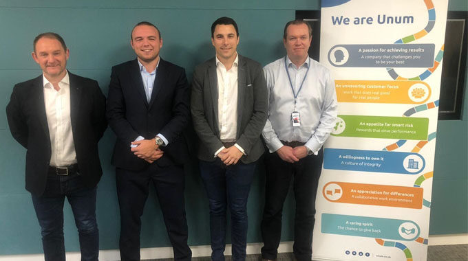 New digital broker Hooray visits Unum