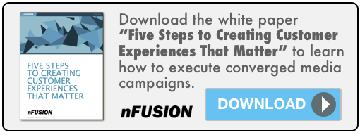 Link to nFusion white paper, Five Steps to Creating Customer Experiences That Matter
