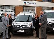 J Tomlinson takes milestone delivery from vehicle supplier Enterprise Flex-E-Rent