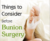 4 Steps to Convince Someone to Get Bunion Surgery