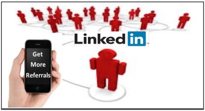 get linkedin referrals