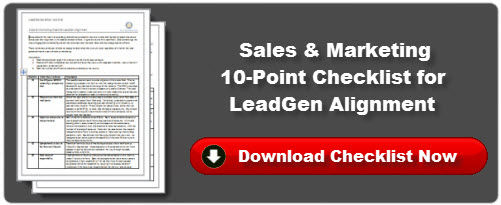 Sales & Marketing Checklist for LeadGen Alignment