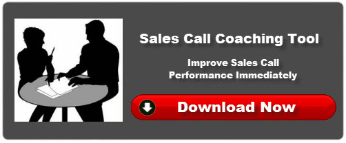 Sales Call Coaching Tool