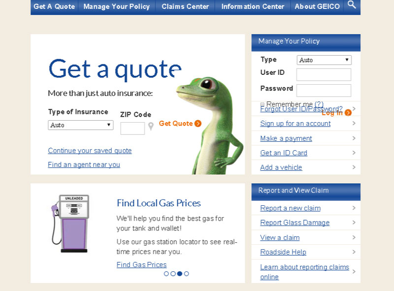 Insurance Cover Geico Insurance Cover Rental Car Amazing Geico Get A Quote