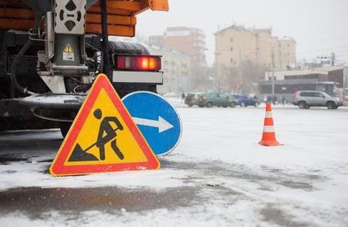 snow hazard