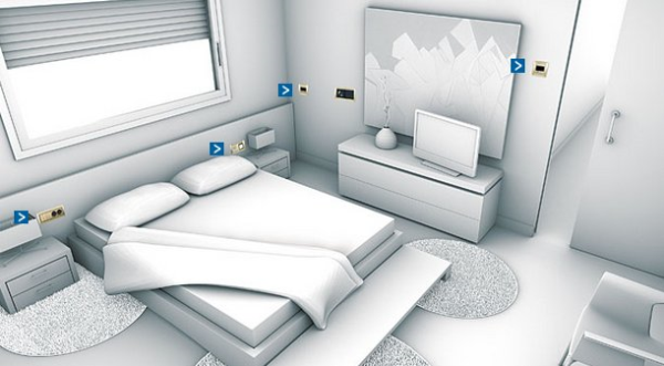 Instalaciones el ctricas en dormitorios - Focos para dormitorios ...