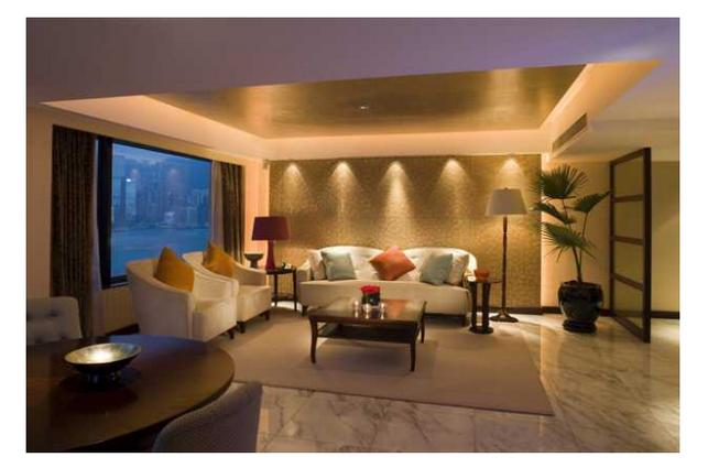 Iluminacion de salon hermosa iluminacin iluminacion de salon focos led deco salon moderno - Iluminacion de salones ...