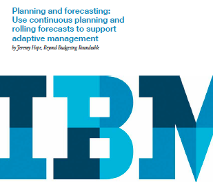 And forecasting use continuous planning and rolling forecasts