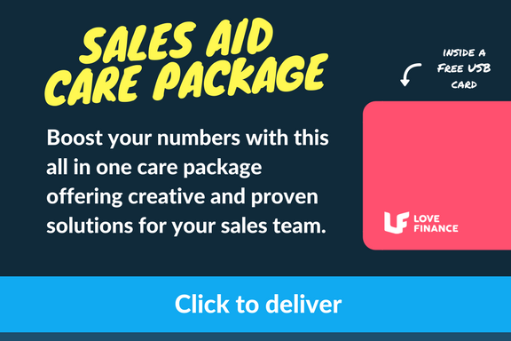 DOWNLOAD: Love Finance's Sales Aid Care Package