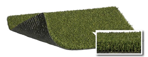 Pro cut short synthetic turf