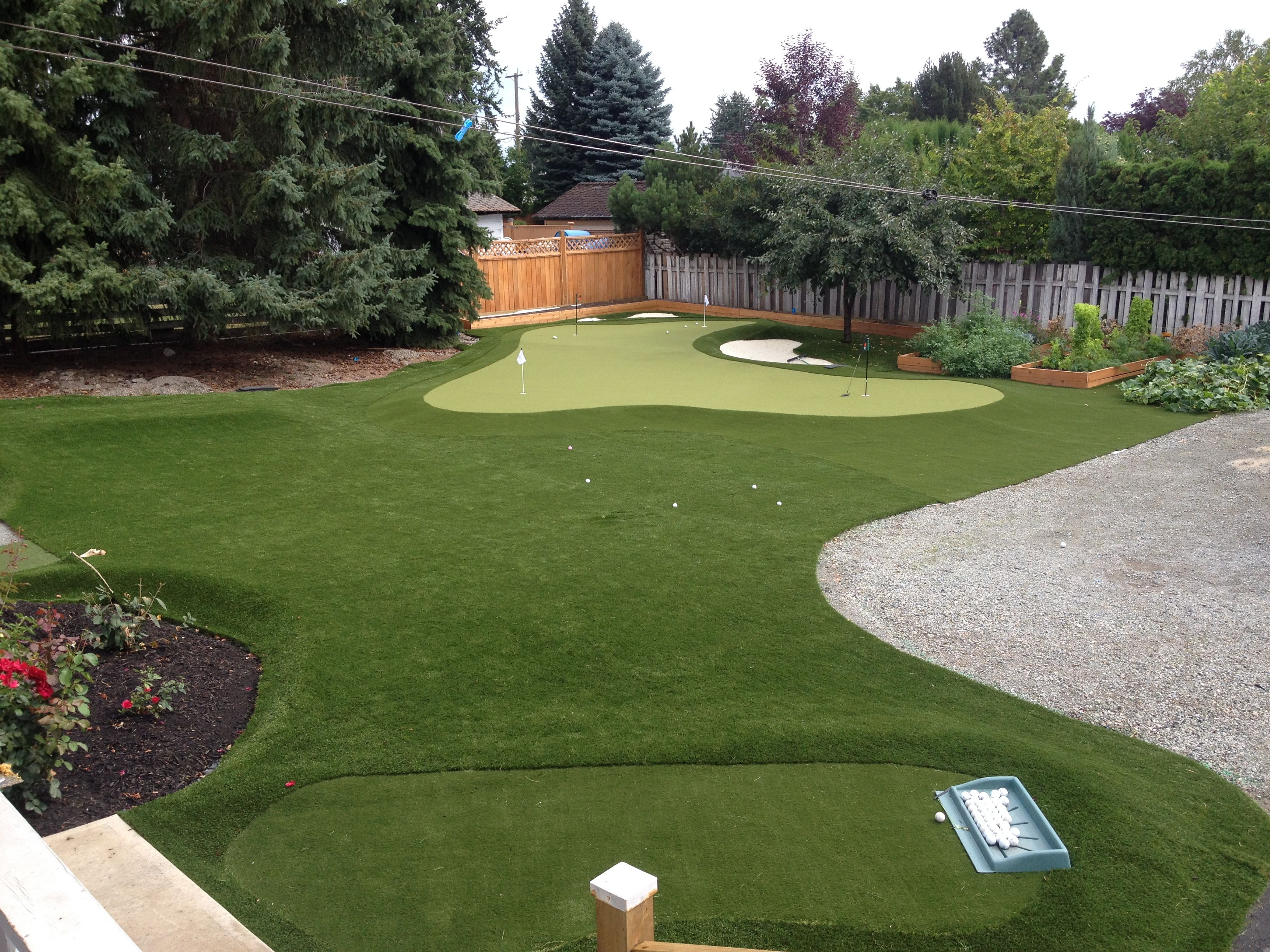 putting green turf yard
