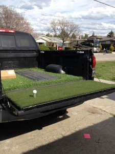 truck bed turf