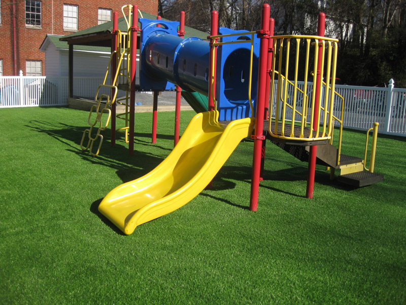playground fake grass turf kids play safe
