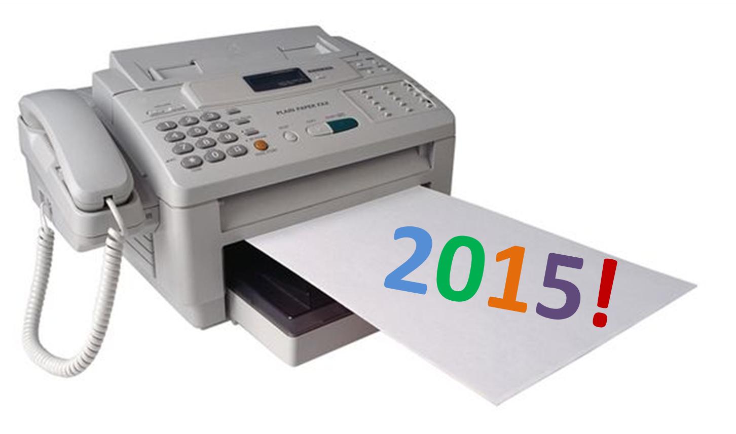 i a fax machine but no landline