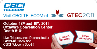 CBCI Telecom at GTEC 2011 Booth