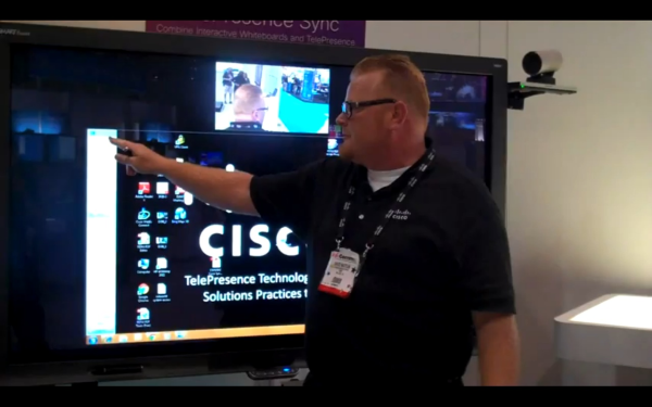 Smart Interactive Whiteboard and Cisco Telepresence