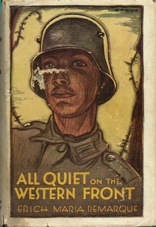 the soldiers lost of innocence in the novel all quiet on the western front by erich maria remarque a Erich maria remarque was  translated into english a year later as all quiet on the western front, a novel about the  the young soldiers all assumed.
