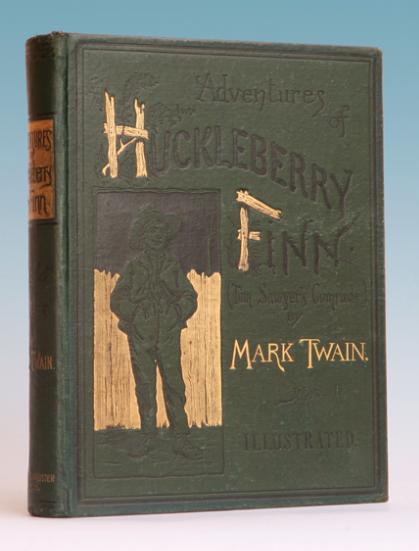 Begin Huck Finn Essays
