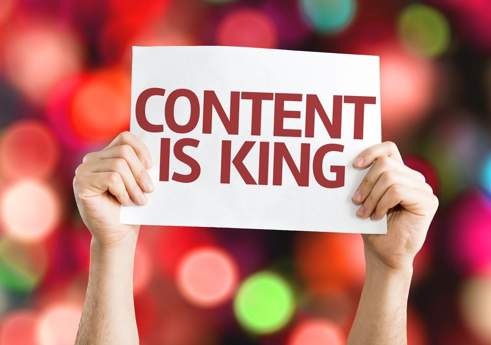 #1 tip to improving your SEO is to focus on your content
