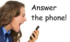 Answer the phone